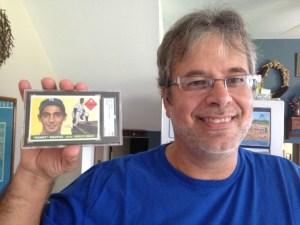 National Sports Collectors Winner Baseball Card Roadshows Sandy Koufax Card Giveaway