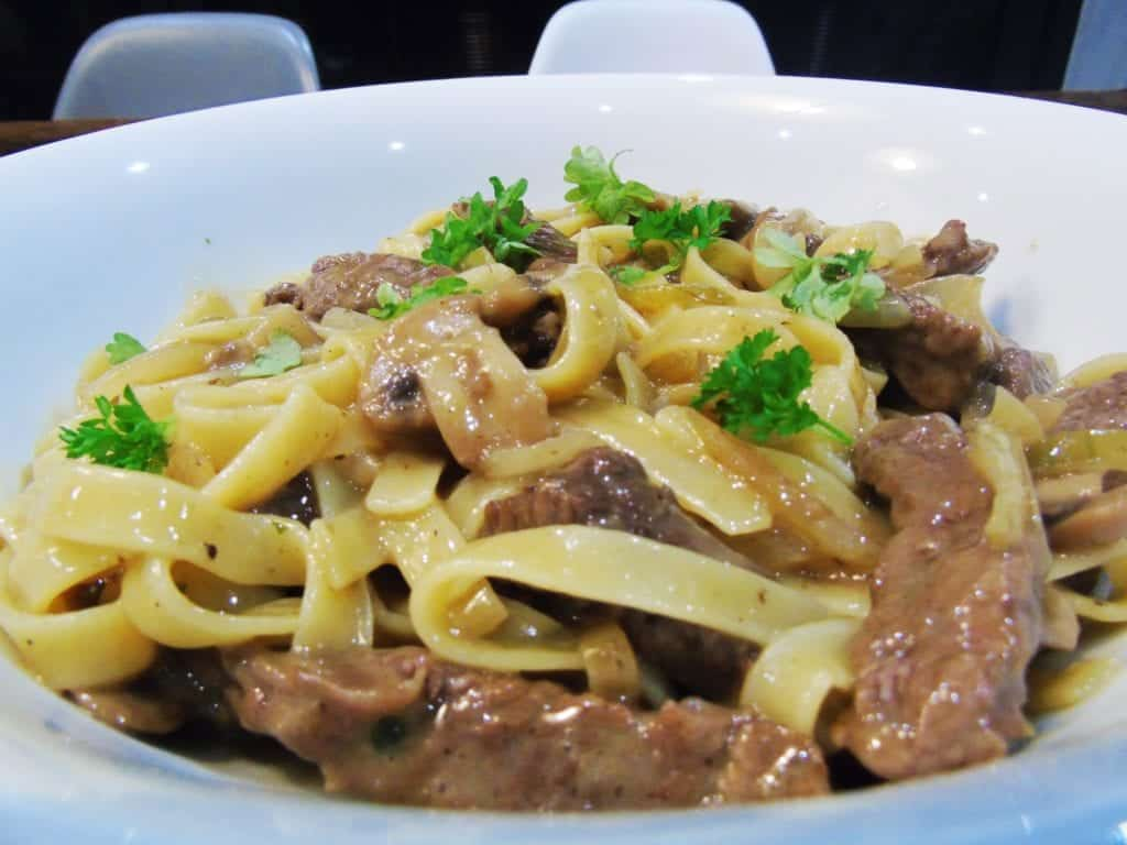 Cucina Pasta Sauce Syns Syn Free Tagliatelle With Steak And Mushroom Sauce
