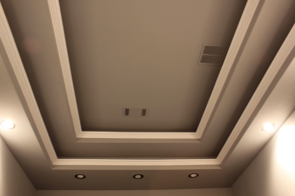 Houzz Basements 2 Tier Soffits Led-rope Light