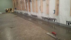 French Drain Basement Lifeguard Basement Waterproofing