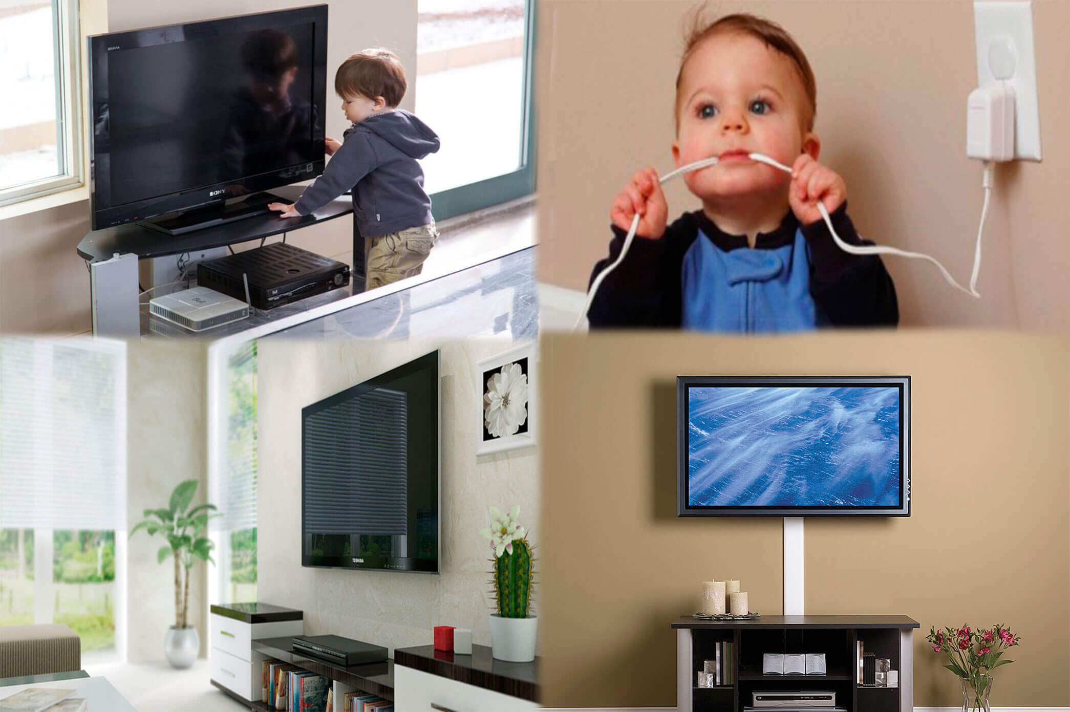 Como Colgar Tv En Pared Como Colgar Tv En Pared Soporte Tv De Cable De Pared Y