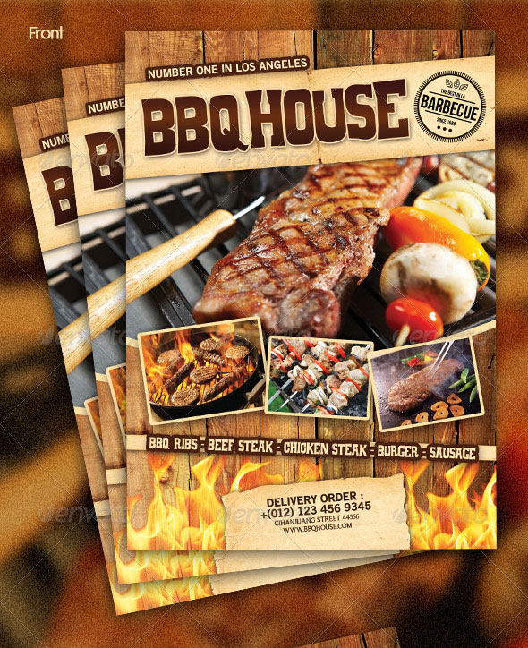 25 High Quality Restaurant Menu Design Templates Web  Graphic