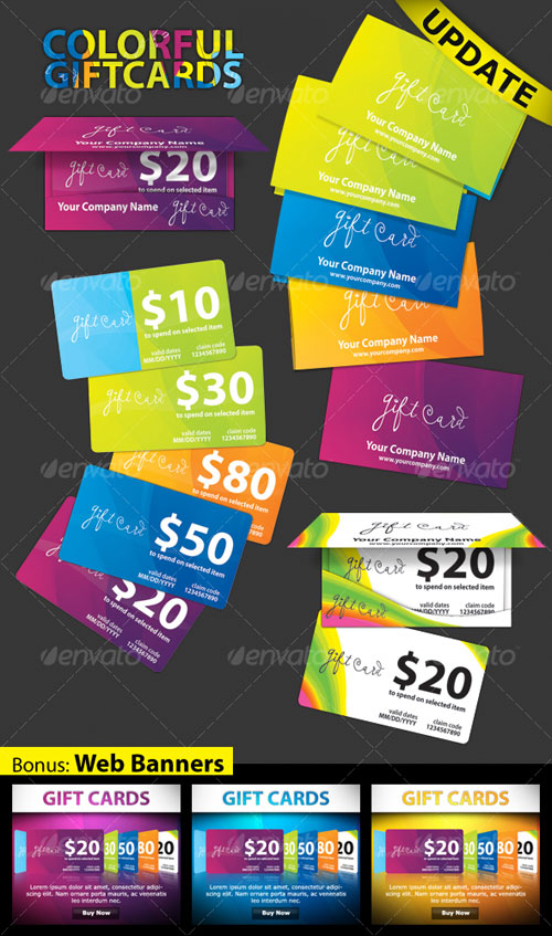 Gift Cards For Business Promotions Arts - Arts - gift cards for business