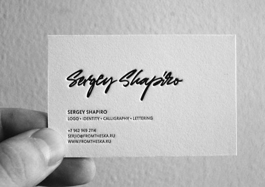 Personal Business Card  65 Examples \u2013 Web  Graphic Design on Bashooka