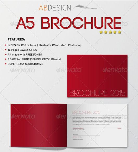 40 High Quality Brochure Design Templates Web  Graphic Design - free pamphlet design