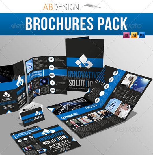 40 High Quality Brochure Design Templates \u2013 Web  Graphic Design on