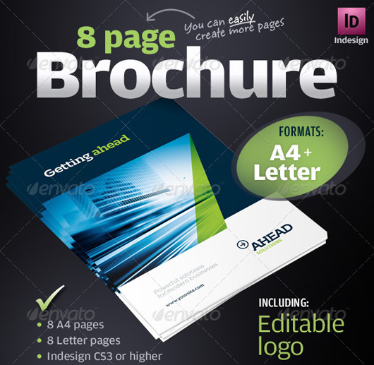40 High Quality Brochure Design Templates \u2013 Web  Graphic Design on