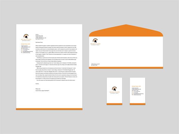 simple letterhead designs