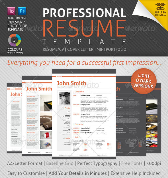 Chemistry Resources in the Electronic professional resume formats
