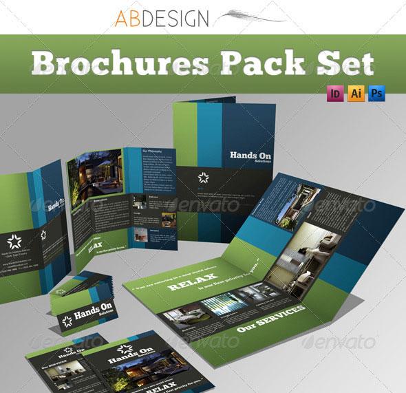 14 Creative 3 Fold Photoshop/Indesign Brochure Templates \u2013 Web