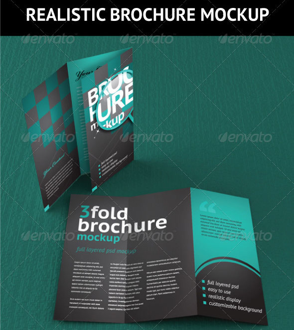 14 Creative 3 Fold Photoshop\/Indesign Brochure Templates Web - psd brochure design inspiration