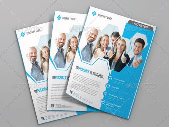 Business Flyer Templates Corporate Business Flyer Template - corporate flyer template