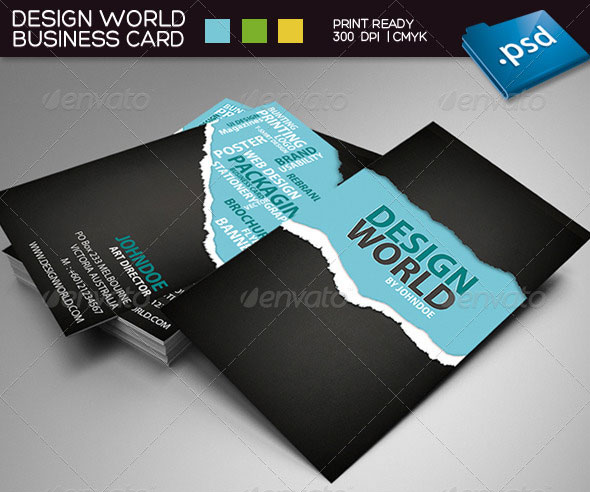 Business Card Design Vector Free Download Free Business Cards PSD