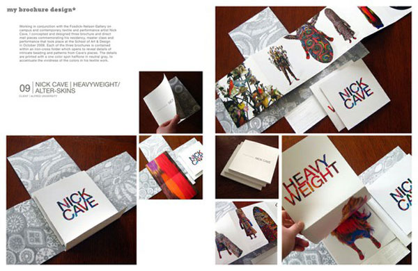 45 Interesting Brochure Designs Inspiration \u2013 Web  Graphic Design