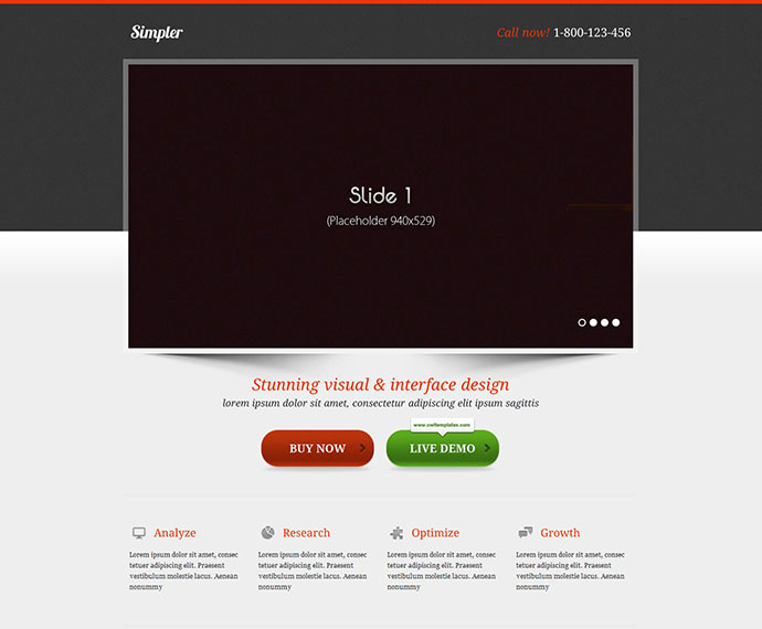80 High Converting Landing Page Templates \u2013 Web  Graphic Design on