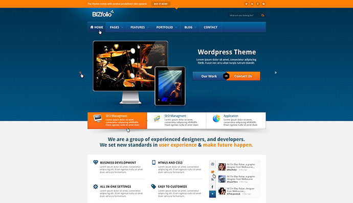 95 Beautiful Photoshop Website Templates Web  Graphic Design - how to create a website template