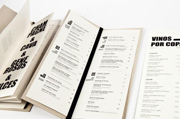 restaurant menus designs