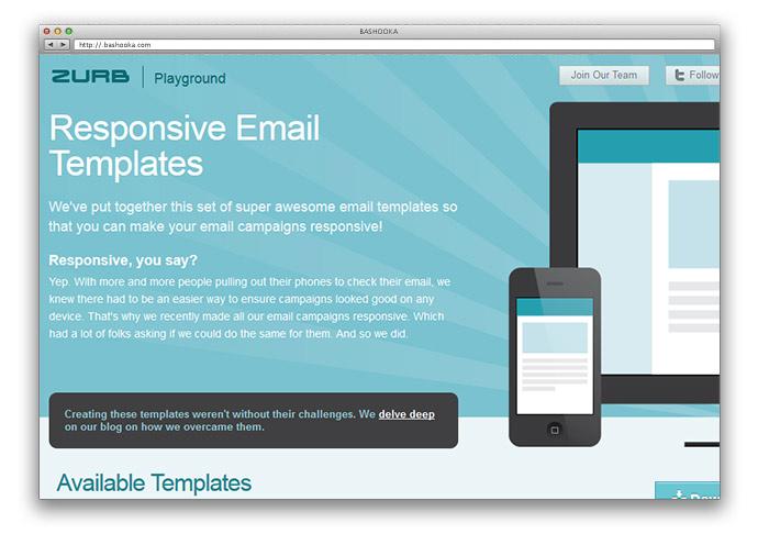 8 Free  Premium Responsive Email Templates Web  Graphic Design