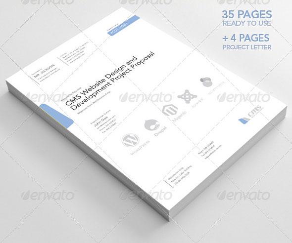 20 Creative Invoice \ Proposal Template Designs Web \ Graphic - graphic design proposal template