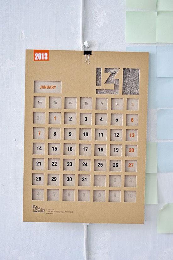 Cool Wall Calendar Ideas 50 Beautiful Diy Wall Art Ideas For Your Home 41 Cool And Creative Calendar Design Ideas For 2014 Web