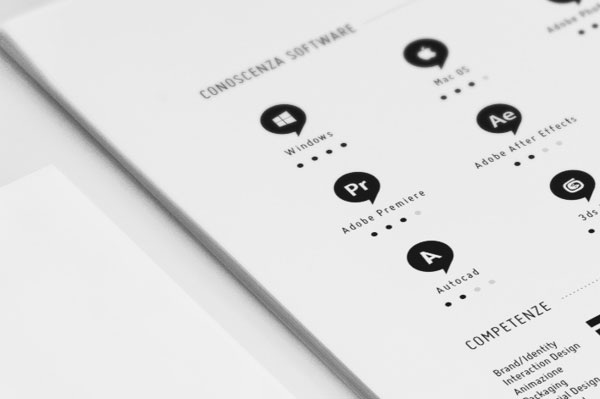 40 Creative CV Resume Designs Inspiration 2014 Web  Graphic