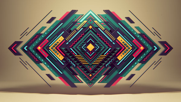 30 Mind-Blowing Examples Of Geometric Designs \u2013 Web  Graphic Design