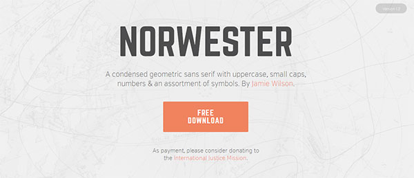 Norwester Free Font Download