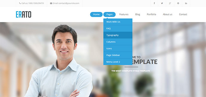 43 Professionally Designed HTML5 Business Website Templates Web