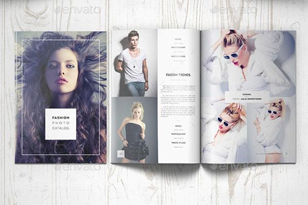 catalog template psd