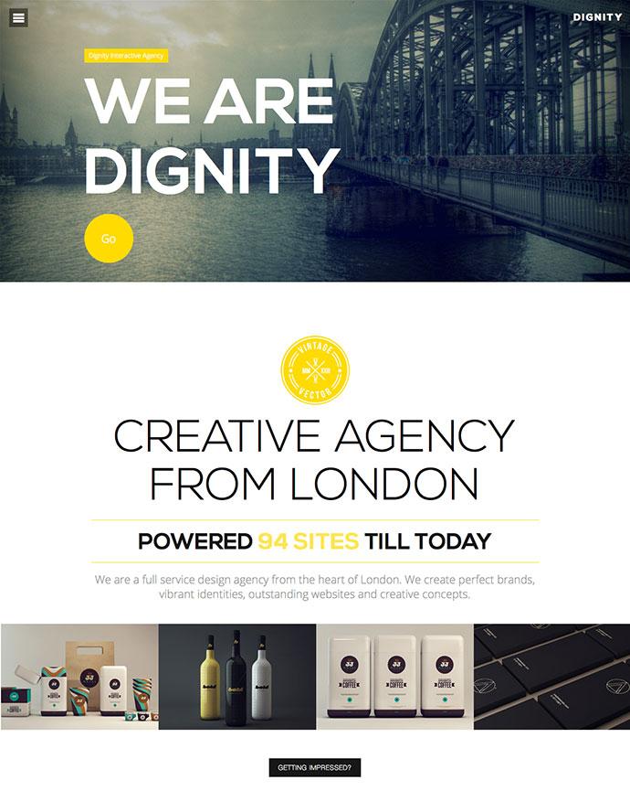 25 Best HTML Portfolio Web Templates 2018 Web  Graphic Design - interactive website template