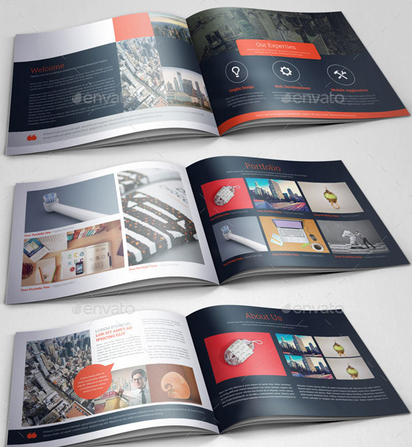 30 Eye-Catching PSD  InDesign Brochure Templates Web  Graphic - architecture brochure template