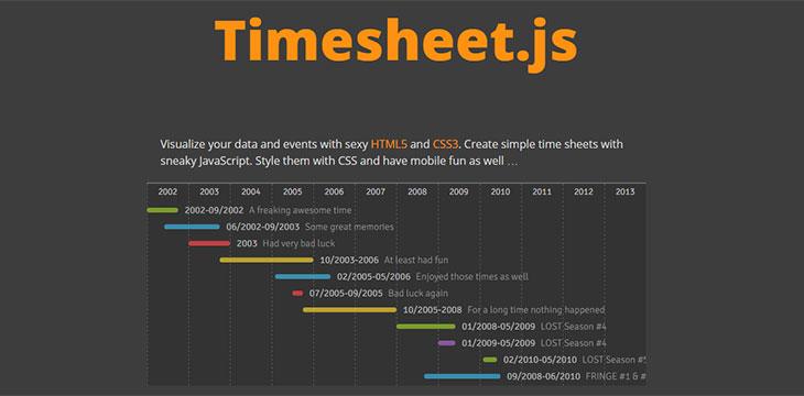 html5 resume template