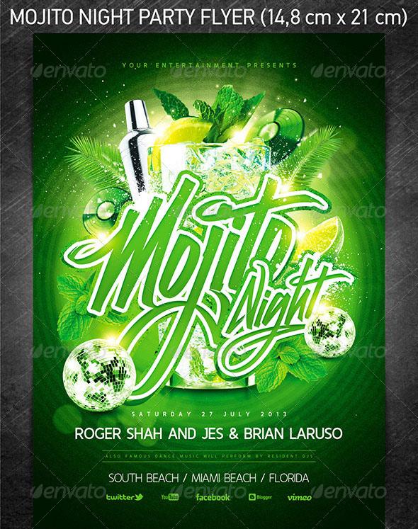 green party flyer - Josemulinohouse