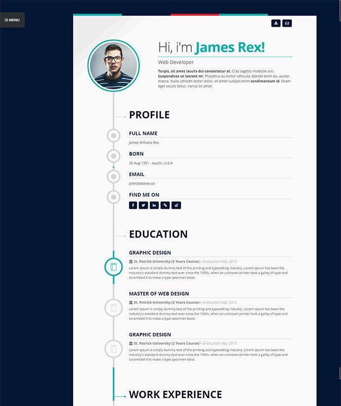 Timeline Resume Resume Templates Timeline Infographic Cv Vector