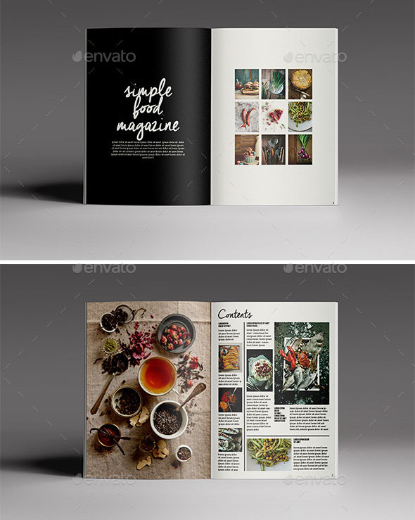 magazine design layout templates