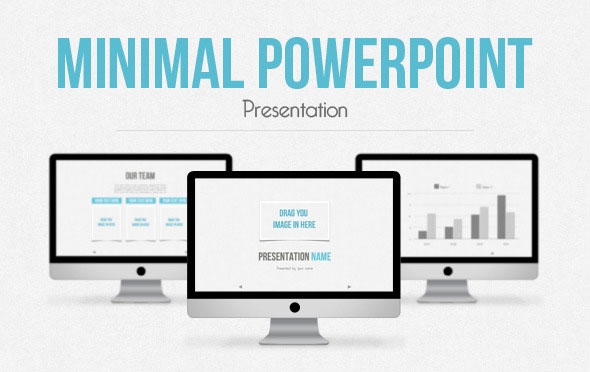 20 Minimalist Powerpoint Templates To Impress Your Audience Web