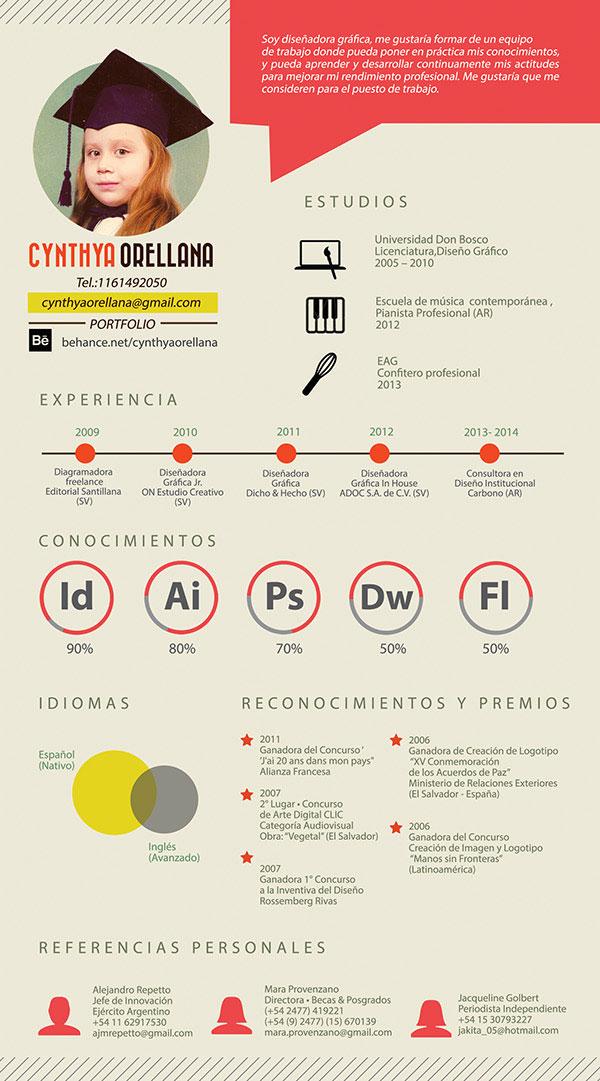 34 Outside-the-box CV Resume Designs Web  Graphic Design Bashooka - resume design inspiration