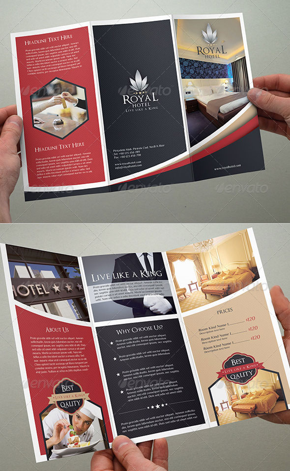 25 Top notch PSD Tri-fold Brochure Templates For Business Web - tri fold brochure