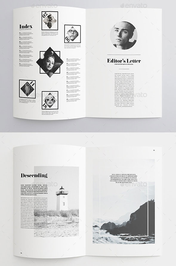 mini brochure design