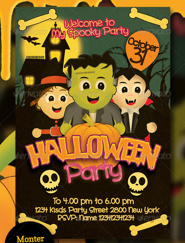 free halloween flyer templates word halloween flyer templates for - blank halloween flyer templates