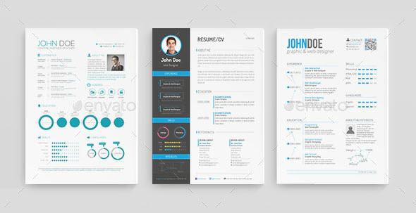30 Best Resume Template Designs 2015 \u2013 Web  Graphic Design on Bashooka