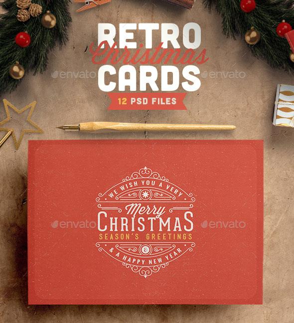 25 Cool PSD Christmas Card Templates \u2013 Web  Graphic Design on Bashooka