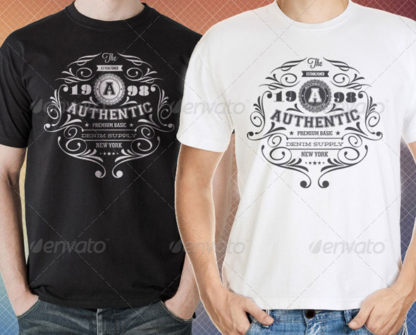 34 Print-Ready PSD T-Shirt Templates Web  Graphic Design Bashooka