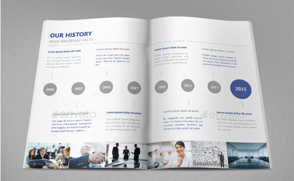 40 Best Corporate InDesign Annual Report Templates Web  Graphic - business reporting templates