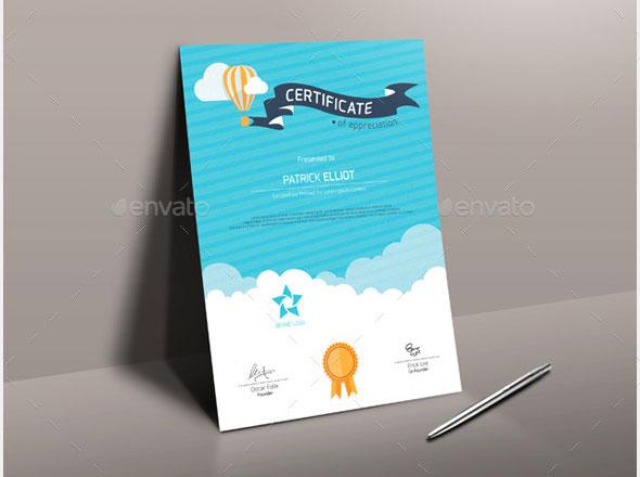 35 Best Certificate Template Designs \u2013 Web  Graphic Design on Bashooka