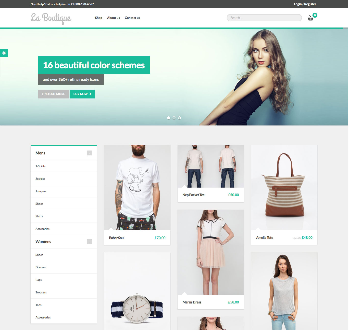 La Web Boutique 25 Best Fashion Ecommerce Wordpress Themes Web And Graphic