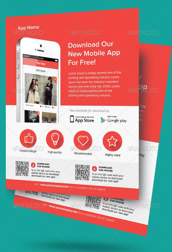 make flyers app - Delliberiberi - web flyer