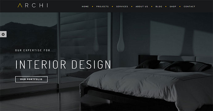 25 Architect  Interior Website Design HTML Templates \u2013 Web