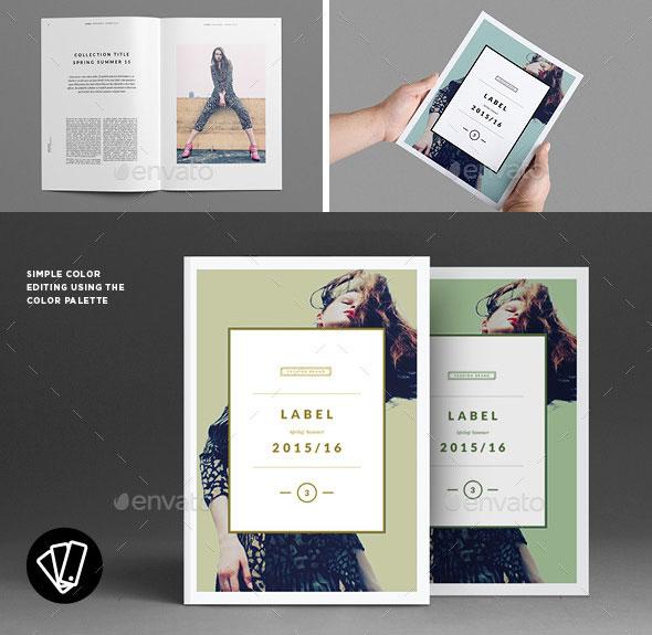 40 Beautiful InDesign Fashion Brochure Templates \u2013 Web  Graphic