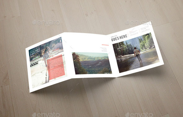 indesign trifold brochure templates